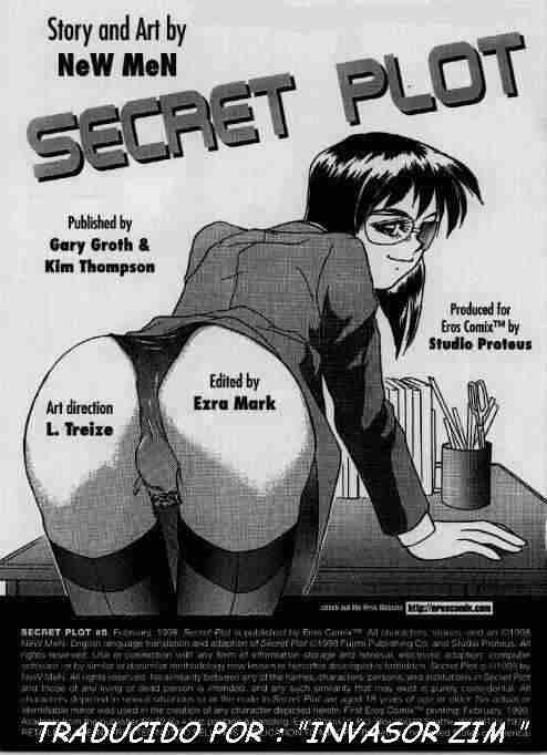 Comic X: Secret Plot