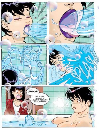 Comic X: Un buen baño