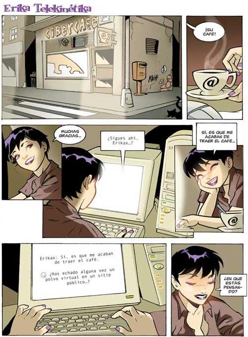Comic X: Cibersexo