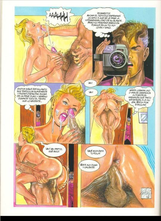 Comic X: Facultad de Ciencias Eróticas