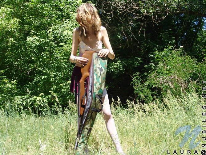 Laurita y su escopeta
