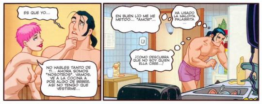 Comic X: Piso Compartido