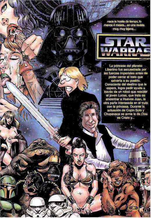 Comic X: Star Warras