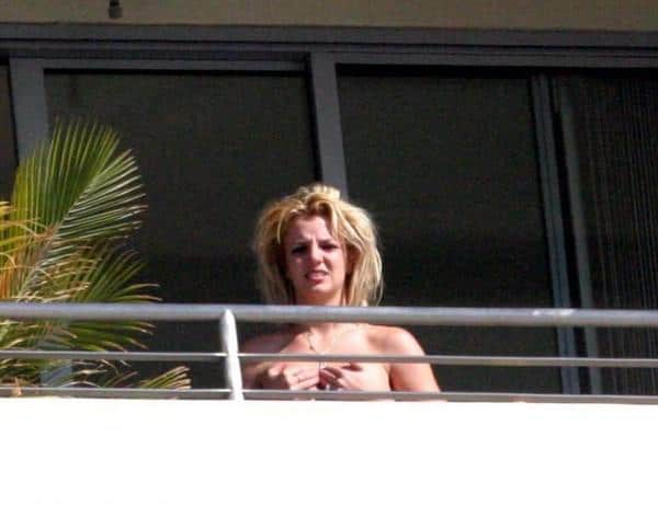 Britney Spears en Topless